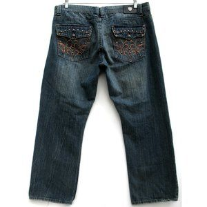 Basic Code BSCD Relaxed Straight Flap Pocket Sz 39